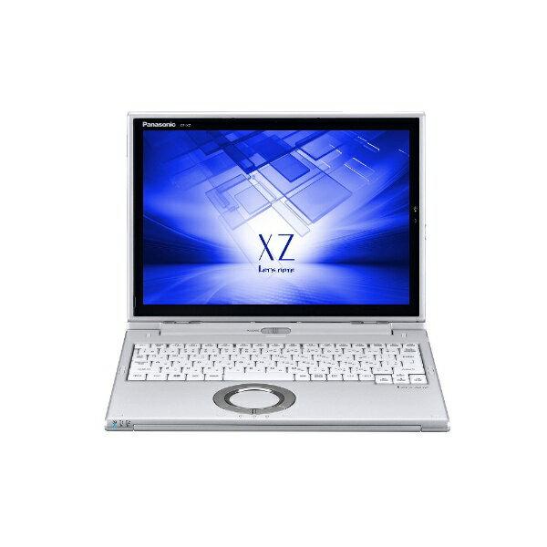 【送料無料】 パナソニック 12型タッチ対応ノートPC[Office付き・Win10 Pro・Core i5・SSD 256GB・メモリ 8GB] レッツノート XZ シルバー CF-XZ6PDCQR (2017年秋冬モデル)[CFXZ6PDCQR]