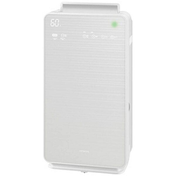 日立 HITACHI EPNVG70-W 加湿空気清浄機 ステンレス・クリーン クリエア パールホワイト [適用畳数:32畳 /最大適用畳数(加湿):19畳 /PM2.5対応][EPNVG70]