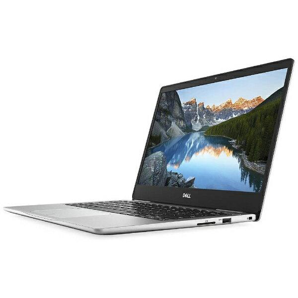 【送料無料】 DELL 13.3型ノートPC[Office付き・Win10・Core i5-8250U・SSD 256GB・メモリ 8GB]Inspiron 13 7370 シルバー MI53-7WHBS(2017秋モデル)[MI537WHBS]