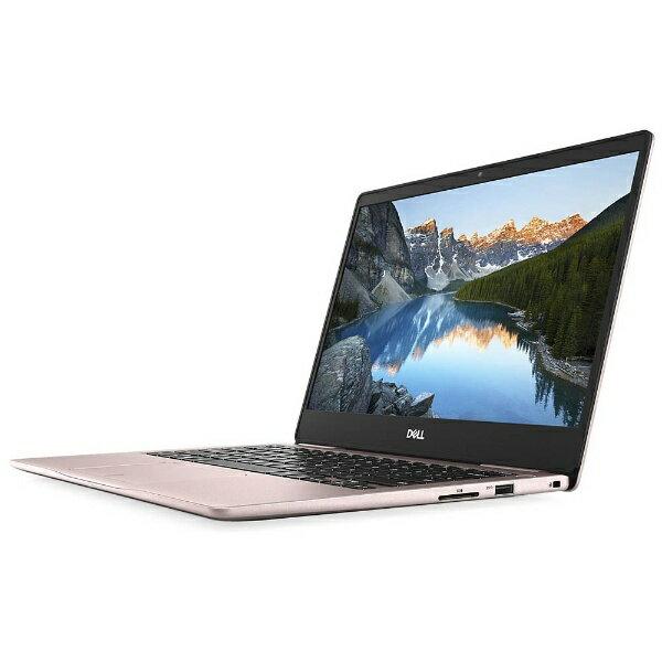 【送料無料】 DELL 13.3型ノートPC[Office付き・Win10・Core i7-8550U・SSD 512GB・メモリ 16GB]Inspiron 13 7370 ピンク MI73-7WHBP(2017秋モデル)[MI737WHBP]