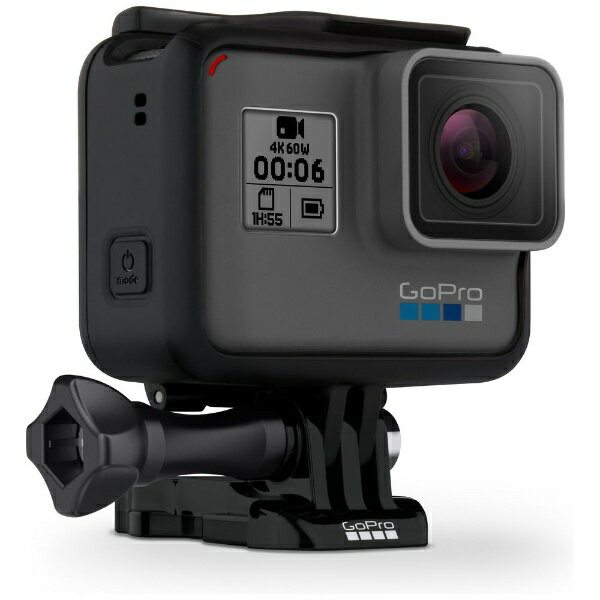 【送料無料】 GOPRO マイクロSD対応 4Kムービー ウェアラブルカメラ GoPro(ゴープロ) HERO6 Black ブラックエディション CHDHX-601-FW