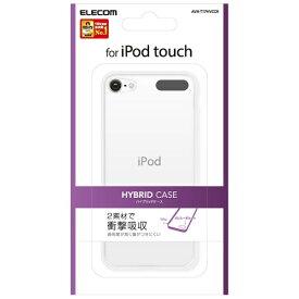 エレコム ELECOM iPod Touch用 ハイブリッドケース(クリア) AVA-T17HVCCR[AVAT17HVCCR]