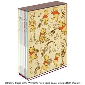 ナカバヤシ Nakabayashi 5冊BOXポケットアルバム くまのプーさん L判3段210枚収納  アPL10313