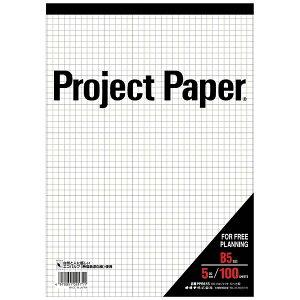 オキナ Okina プロジェクトペーパーB5 5ミリ方眼 PPB55S