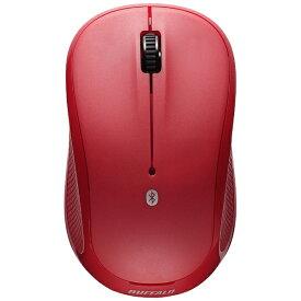 BUFFALO バッファロー BSMRB058RD マウス レッド [IR LED /3ボタン /Bluetooth /無線(ワイヤレス)][BSMRB058RD]