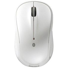 BUFFALO バッファロー BSMBB108WH マウス ホワイト [BlueLED /3ボタン /Bluetooth /無線(ワイヤレス)][BSMBB108WH]