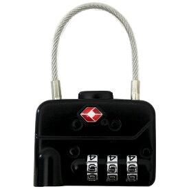 シフレ siffler TSAダイヤル南京錠 4連 SIF7003 ブラック