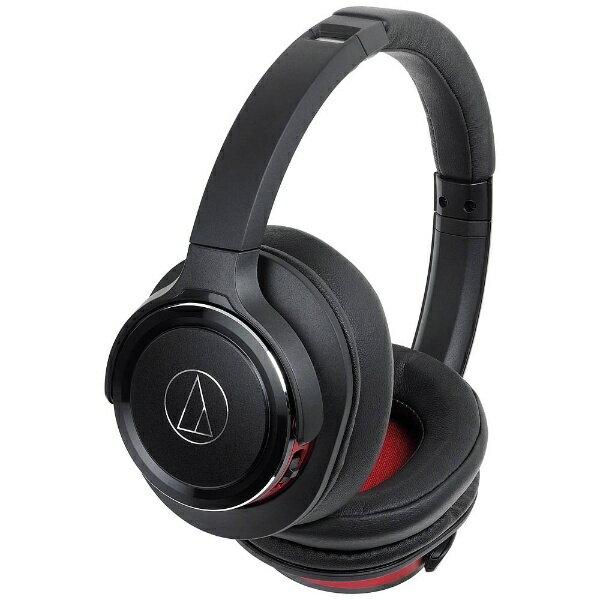【送料無料】 オーディオテクニカ ブルートゥースヘッドホン ATHWS660BTBRD ブラックレッド [Bluetooth][ATHWS660BTBRD]