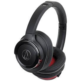 オーディオテクニカ audio-technica ブルートゥースヘッドホン ブラックレッド ATHWS660BTBRD [リモコン・マイク対応 /Bluetooth][ワイヤレス ヘッドホン]【rb_cpn】