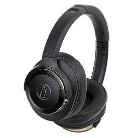 オーディオテクニカ audio-technica ブルートゥースヘッドホン ATHWS660BTBGD ブラックゴールド [リモコン・マイク対応 /Bluetooth][ATHWS660BTBGD]