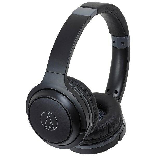 【送料無料】 オーディオテクニカ ブルートゥースヘッドホン ATH-S200BT BK ブラック [Bluetooth]
