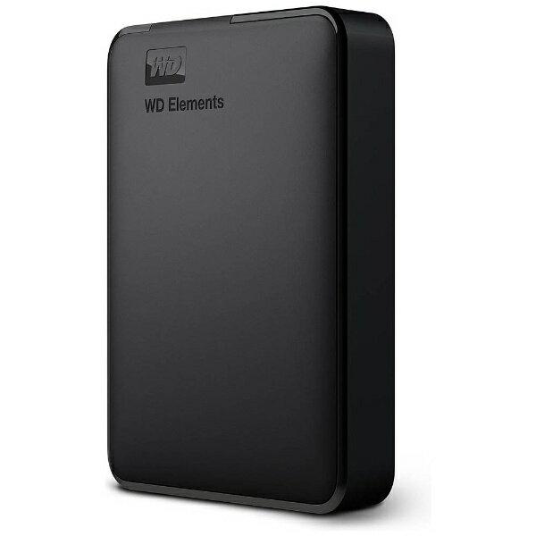 【送料無料】 WESTERNDIGITAL(ウエスタン ポータブルハードディスク[USB3.0・2TB]Windows/Mac両対応(ブラック) WDBU6Y0020BBK-WESN(2017年モデル)
