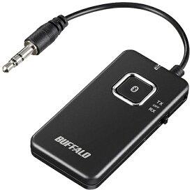 BUFFALO バッファロー Bluetoothオーディオトランスミッター&レシーバー 低遅延対応 BSHSBTR500BK