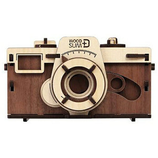 EFG 天然木の組み立てキット-ピンホールカメラW PC-W14[生産完了品 在庫限り][PCW14]