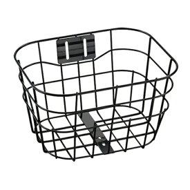ブリヂストン BRIDGESTONE マークローザF用 フロントバスケット(ブラック) BK-BKJ