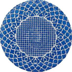 ミヤザキ食器 MIYAZAKI ハナ チャージャープレート ブルー 33cm HA3301BL <RHN7601>[RHN7601]