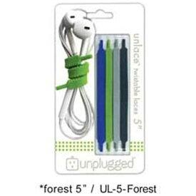 日本ポステック JPT 〔ケーブルアクセサリー〕 UNLACE 5 forest unplugged UL-5-Forest