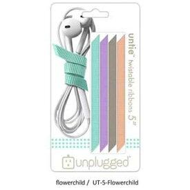 日本ポステック JPT 〔ケーブルアクセサリー〕 UNTIE 5 flowerchild unplugged UT-5-Flowerchild
