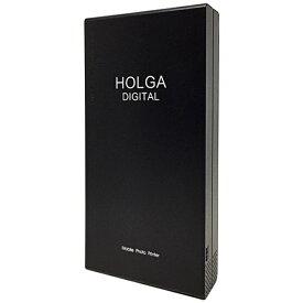 HOLGA ホルガ 〔iOS/Androidアプリ〕 ホルガデジタル モバイル フォトプリンター ブラック HOLGA-PRITER/BK[HOLGAPRITERBK]【プリンタ】