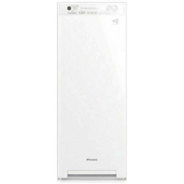 【送料無料】 ダイキン DAIKIN 加湿空気清浄機 (空気清浄:〜25畳/加湿:〜14畳) MCK55U-W ホワイト[MCK55UW]