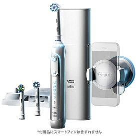 ブラウン BRAUN 電動歯ブラシ Oral-B(オーラルB)ジーニアス9000 D7015356XCTWH [回転式 /AC100V-240V][D7015356XCTWH]【ribi_rb】