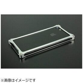 GILD design ギルドデザイン iPhone 8用 ソリッドバンパー シルバー GI-402S[GI402S]