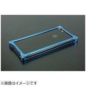 GILD design ギルドデザイン iPhone 8用 ソリッドバンパー ブルー GI-402BL
