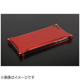 GILD design ギルドデザイン iPhone 8用 ソリッド レッド GI-400R