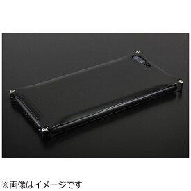 GILD design ギルドデザイン iPhone 8 Plus用 ソリッド ブラック GI-410B