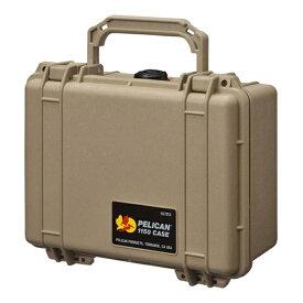 ペリカン Pelican 小型防水ハードケース 1150HK (デザートタン)