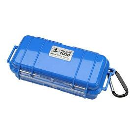 ペリカン Pelican 小型防水ハードケース 1030HK (ブルー)