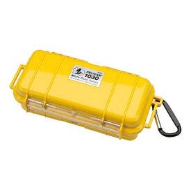 ペリカン Pelican 小型防水ハードケース 1030HK (イエロー)