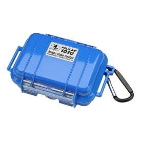 ペリカン Pelican 小型防水ハードケース 1010HK (ブルー)