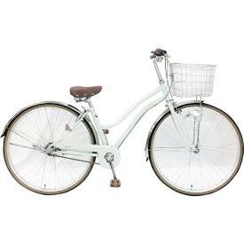 サイモト自転車 SAIMOTO 【組立商品返品不可】【ビックグループオリジナル】27型 自転車 レセファロシティ(ホワイト/内装3段変速) CDA-W273R-HD-BAA-BC※在庫有でもお届けにお時間がかかります【point_rb】 【代金引換配送不可】