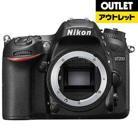 ニコン Nikon 【アウトレット品】デジタル一眼レフカメラ D7200 [ボディ単体] ブラック【生産完了品】D7200BODY【kk9n0d18p】