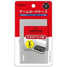 ナカバヤシ SWITCH用アルミゲームカードケース3枚入 シルバー MCC-SWI01SL[Switch]