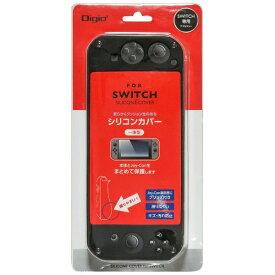 ナカバヤシ SWITCH用シリコンカバー一体型 ブラック SZC-SWI05BK[Switch]