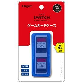 ナカバヤシ SWITCH用ゲームカードケース4枚入 ブルー MCC-SWI03BL[Switch]