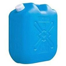 北陸土井工業 灯油缶 18L ブルー