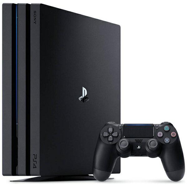 【送料無料】 ソニーインタラクティブエンタテインメント PlayStation4 Pro ジェット・ブラック 1TB[ゲーム機本体] CUH-7100BB01[PS4PROジェット・ブラック1TB]