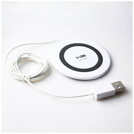 アイキューラボ iQ Labo ワイヤレス充電器[Qi対応]YOGEE Qi対応 コンパクト Wireless Fast charger YG-FC-WH ホワイト [ワイヤレスのみ][YGFCWH]