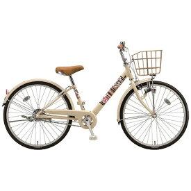 ブリヂストン BRIDGESTONE 24型 子供用自転車 エコパルモカ(E.Xエッグシェルベージュ/シングル) EPM40【2018年モデル】【組立商品につき返品不可】 【代金引換配送不可】