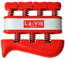 La-VIE ラ・ヴィ フィンガーグリップ ハード(レッド/男女兼用) 3B-4151