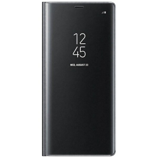 SAMSUNG 【サムスン純正】 Galaxy Note8用 CLEAR VIEW STANDING COVER ブラック EF-ZN950CBEGJP