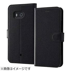 レイアウト rayout HTC U11用 手帳型ケース シンプル マグネット ブラック RT-HT11ELC1/BB