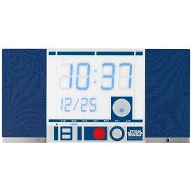 リズム時計 RHYTHM 掛置兼用時計 TOKIOTO(トキオト) R2-D2 8RDA71MC04 【代金引換配送不可】
