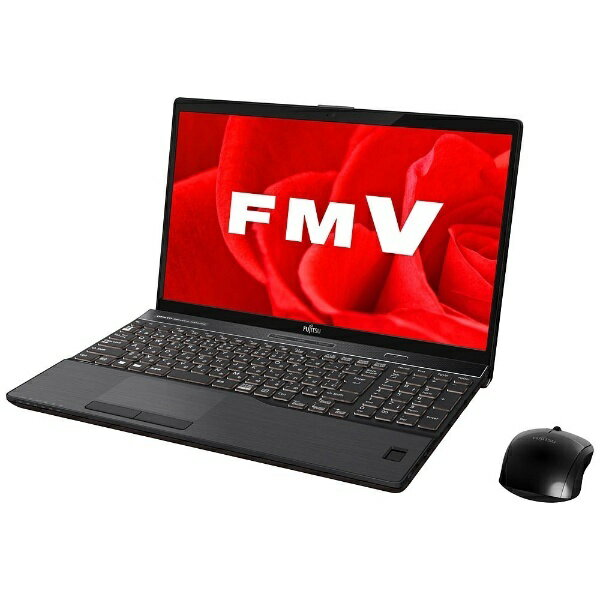 【送料無料】 富士通 15.6型ノートPC[Office付き・Win10 Home・Core i7・HDD 1TB・メモリ 8GB] LIFEBOOK AH77/B3 ブライトブラック FMVA77B3B(2017年秋冬モデル)