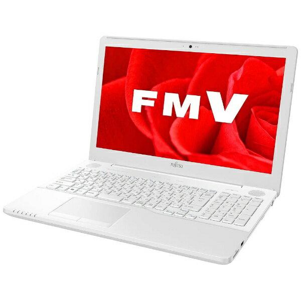 【送料無料】 富士通 15.6型ノートPC[Office付き・Win10 Home・Core i7・HDD 1TB・メモリ 4GB] LIFEBOOK AH50/B3 プレミアムホワイト FMVA50B3WP(2017年秋冬モデル)