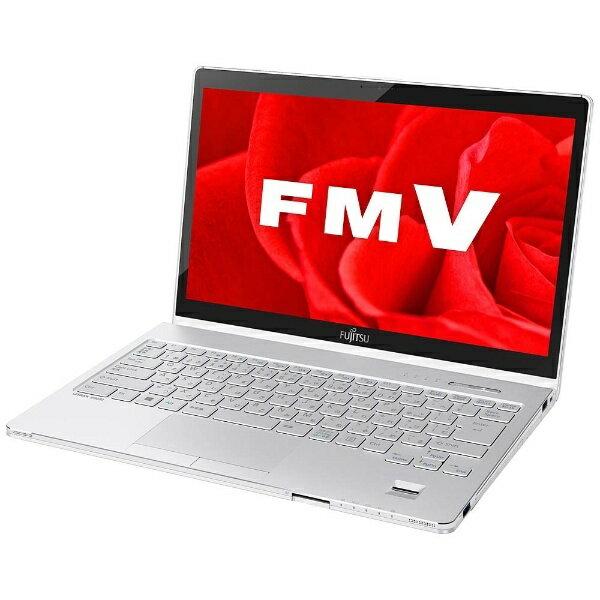 【送料無料】 富士通 13.3型ノートPC[Office付き・Win10 Home・Core i5・SSD 256GB・メモリ 4GB] LIFEBOOK SH90/B3 アーバンホワイト FMVS90B3W(2017年秋冬モデル)