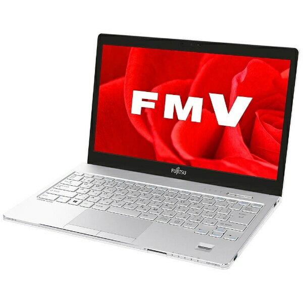 【送料無料】 富士通 13.3型ノートPC[Office付き・Win10 Home・Core i5・SSD 128GB・メモリ 4GB] LIFEBOOK SH75/B3 アーバンホワイト FMVS75B3W(2017年秋冬モデル)